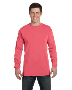 Comfort Colors C5014 - 5.5 oz. Ringspun Garment-Dyed Long-Sleeve T-Shirt