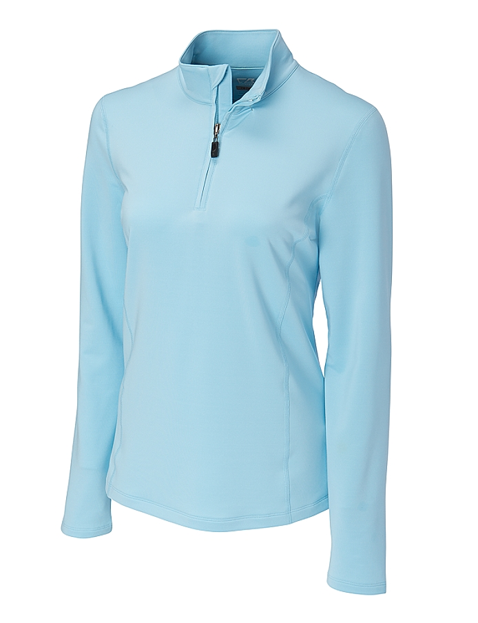 CUTTER & BUCK LCK02425 - Ladies' CB DryTec Fleece In Motion Mock