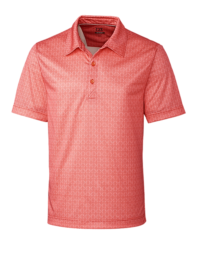 CUTTER & BUCK MCK09199 - Men's Beach Drive Print Polo