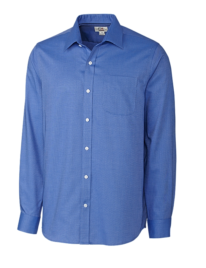CUTTER & BUCK MCW09474 - Men's L/S Tailored Fit Spread Nailshead