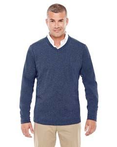 Devon & Jones D884 - Men's Fairfield Herringbone V-Neck Pullover