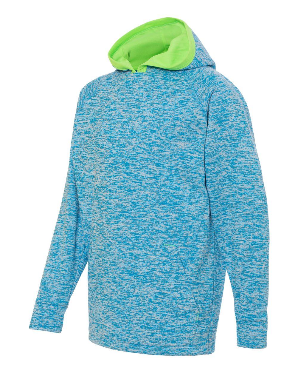 J. America 8610 - Youth Cosmic Fleece Hooded Pullover Sweatshirt