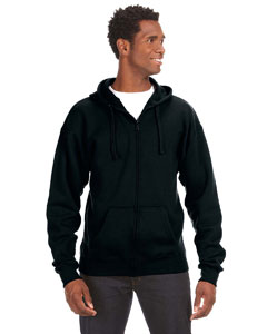 J America JA8821 - Premium Full-Zip Fleece Hood