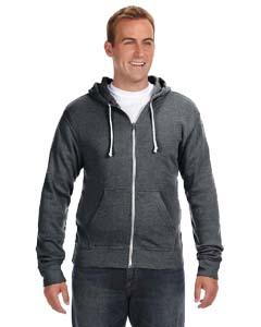 J America JA8872 - Triblend Full-Zip Fleece Hood