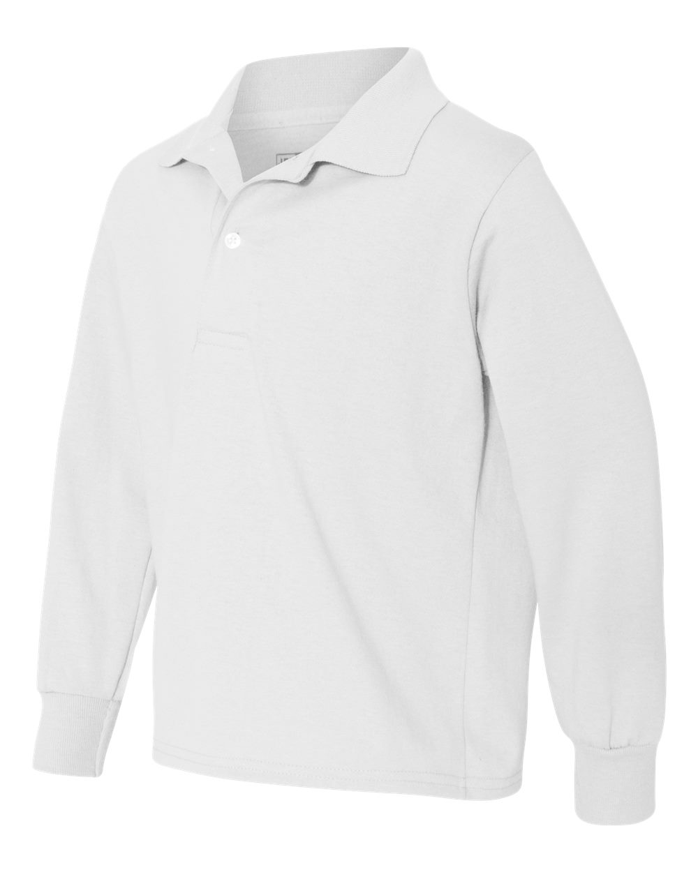 Jerzees 437YLR - SpotShield Youth Long Sleeve Sport Shirt