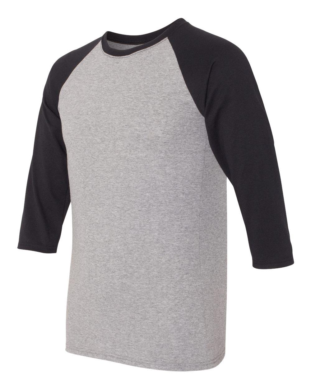 Jerzees 601RR - Dri-Power Active Triblend Baseball Raglan T-Shirt