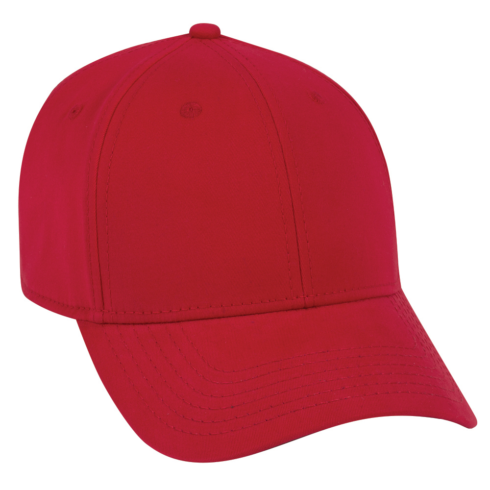 OTTO Cap 19-1227 - Comfy Fit 6-Panel Brushed Stretchable Superior Cotton Low Profile Baseball Cap
