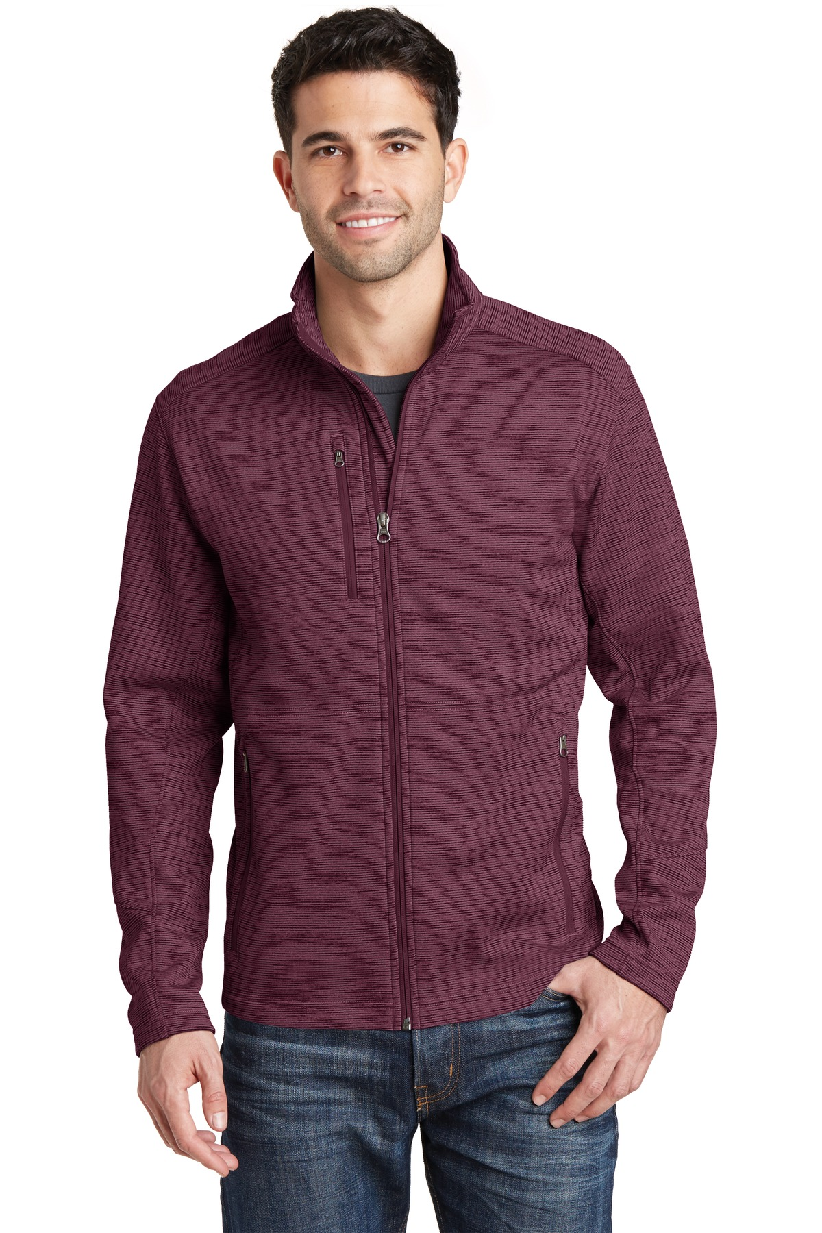 Port Authority  F231 - Digi Stripe Fleece Jacket