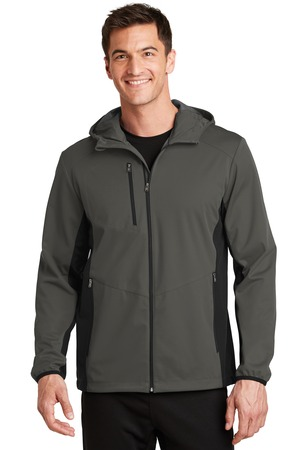 Port Authority® J719 - Active Hooded Soft Shell Jacket