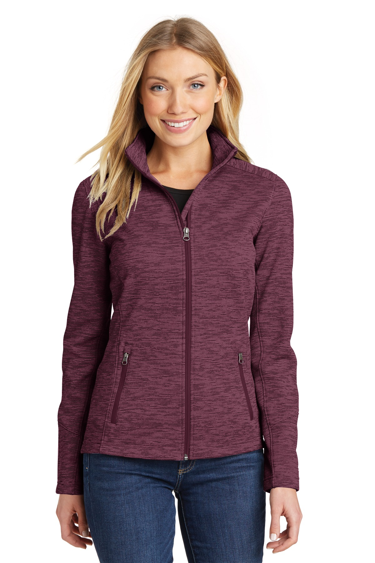 Port Authority  L231 - Ladies Digi Stripe Fleece Jacket