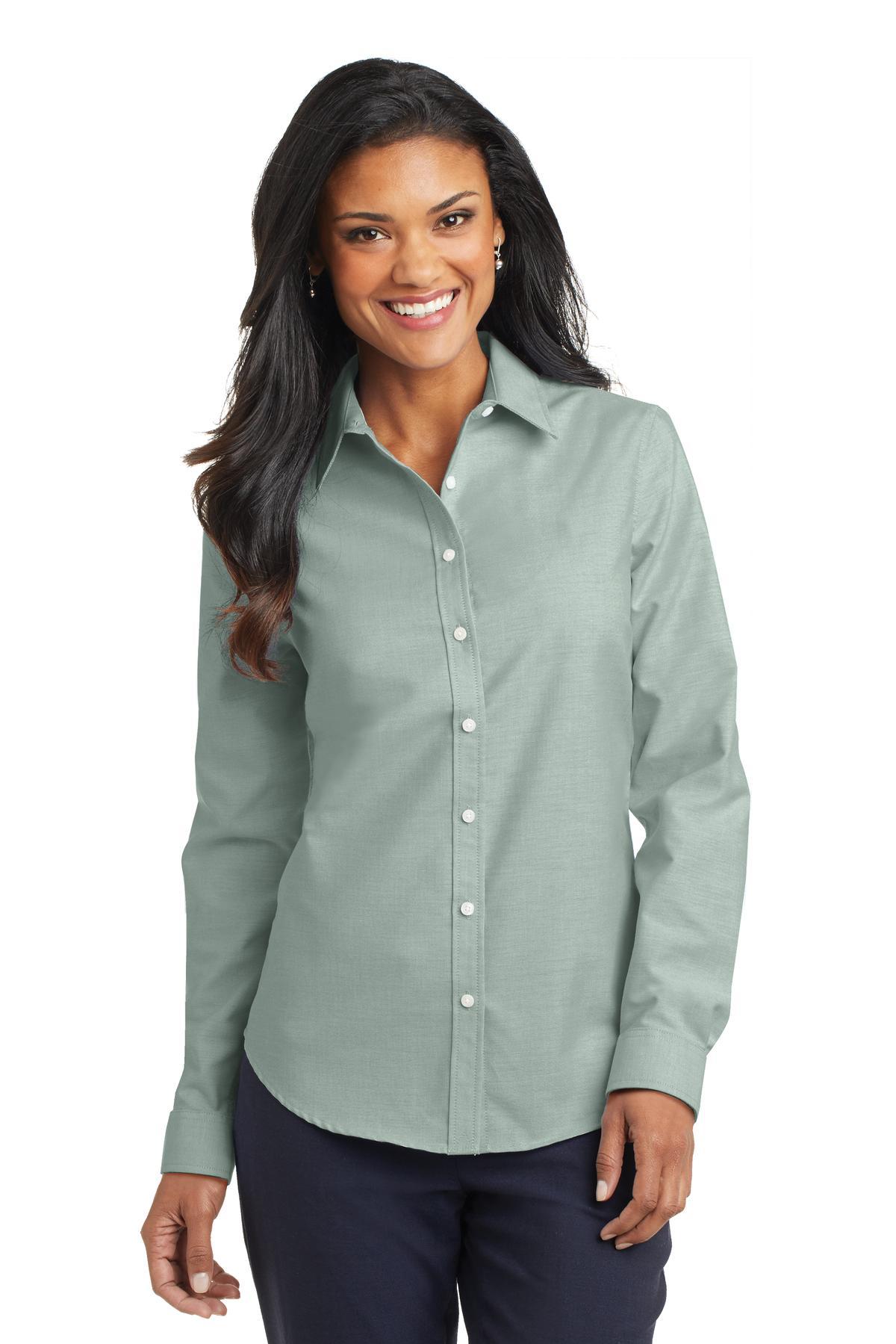 Port Authority® L658 - Ladies SuperPro Oxford Shirt