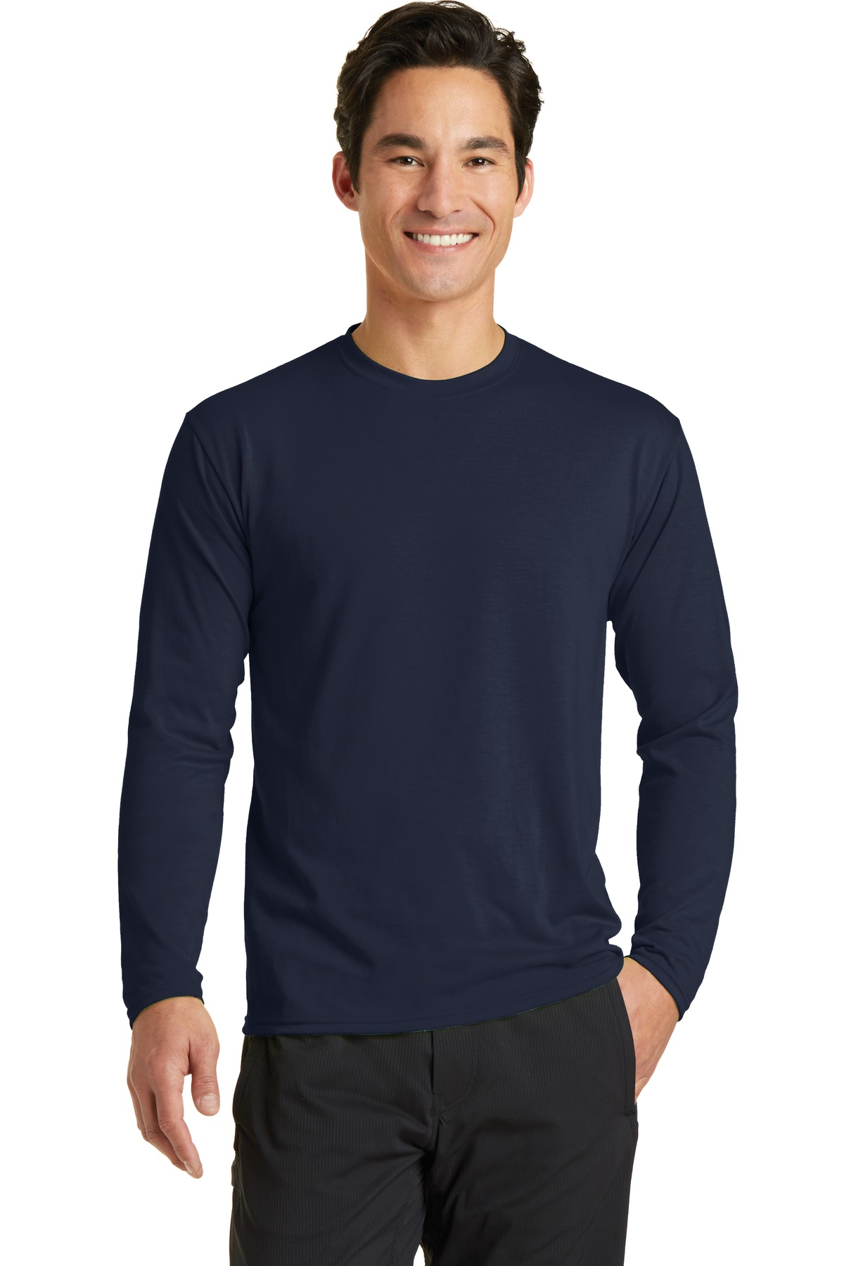 Port & Company  PC381LS - Long Sleeve Essential Blended Performance Tee