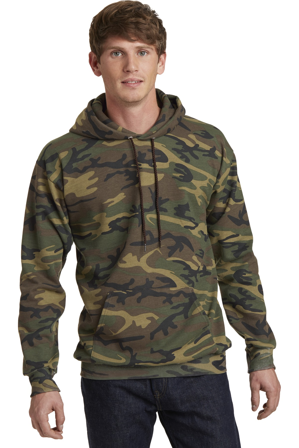 Port & Company  PC78HC - Classic Camo Pullover Hooded Sweatshirt