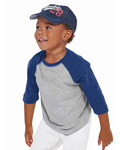 Rabbit Skins Drop Ship RS3330 - Toddler Vintage Fine Jersey Baseball T-Shirt