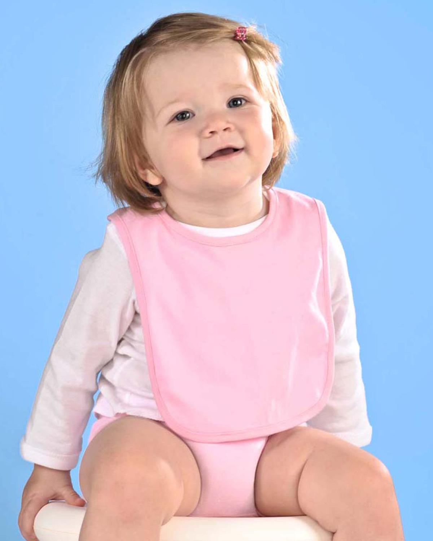 Rabbit Skins RS1005 - Infant Jersey 1-Ply Velcro™ Bib