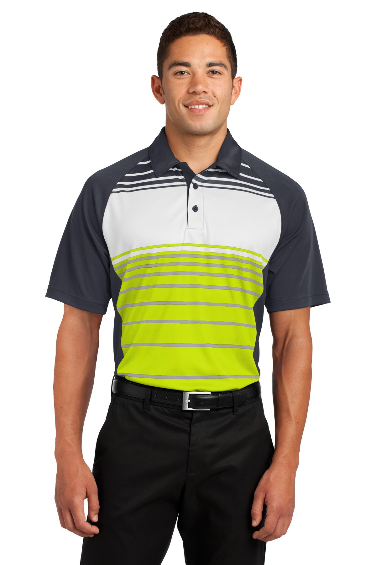 Sport-Tek  Dry Zone  ST600 - Sublimated Stripe Polo