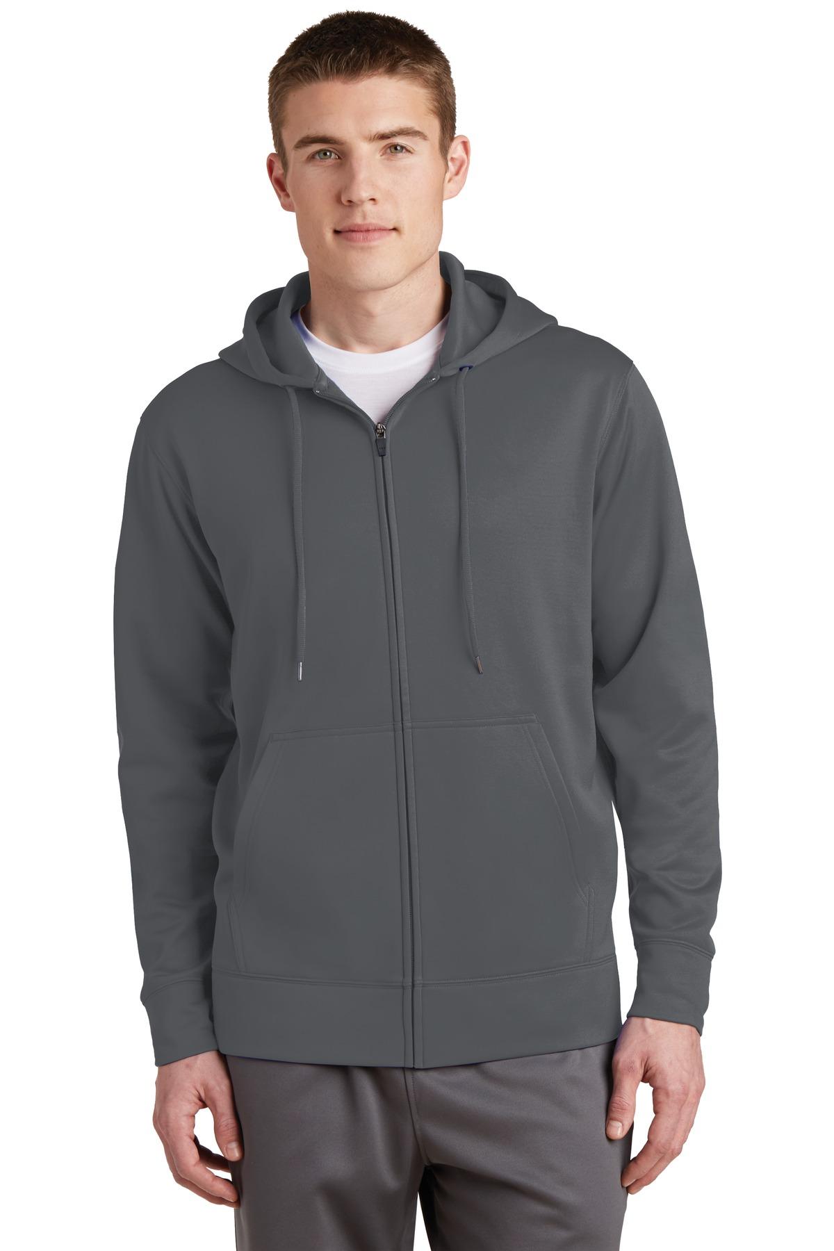 Sport-Tek  ST238 - Sport-Wick; Fleece Full-Zip Hooded Jacket