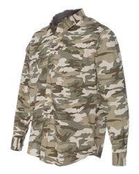 Weatherproof 154622 - Vintage Camo Long Sleeve Shirt