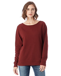 Alternative 5068BT - Ladies' Reversible Scrimmage Vintage French Terry Pullover
