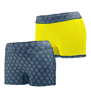AUGUSTA 1227A - LADIES' IMPRESS SHORT