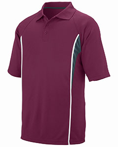 Augusta Drop Ship 5023 - Adult Wicking Polyester Mesh Sport Shirt with Contrast Inserts