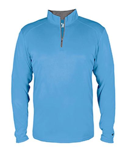 Badger 4102 - Men's Lightweight Long-Sleeve Quarter-Zip Performance Pullover