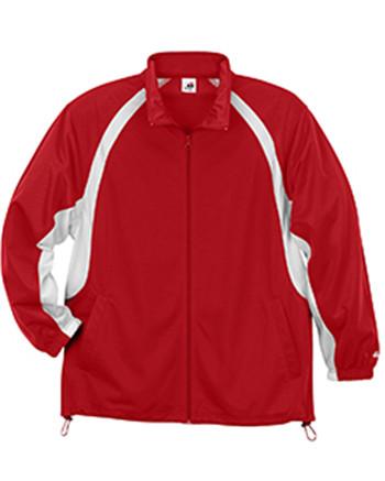 Badger Sport 2702 - Youth Brushed Tricot Hook Jacket