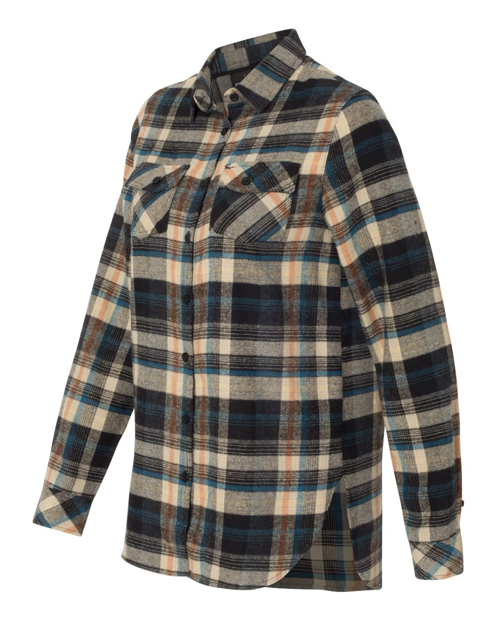 Burnside 5210 - Women's Yarn-Dyed Long Sleeve Flannel Shirt