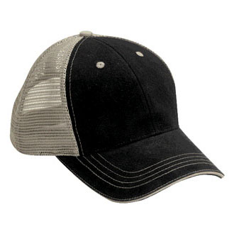 Cobra WM-6 - 6 Panel Washed Twill Front Soft Mesh Cap