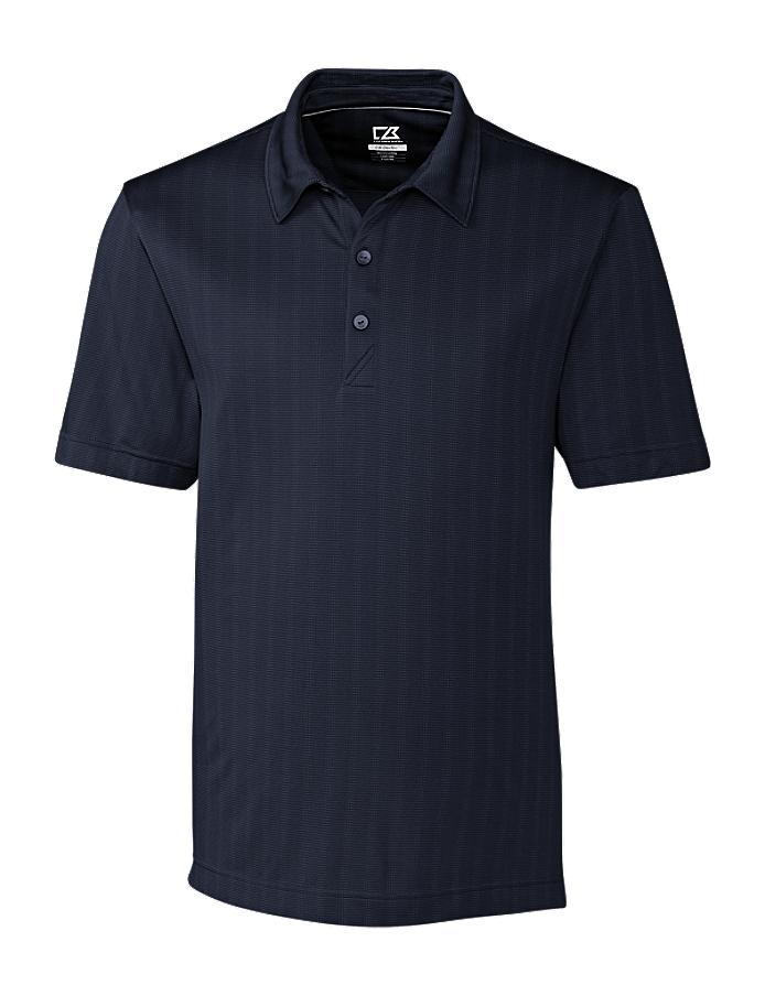 CUTTER & BUCK MCK09255 Men's Hamden Jacquard Polo