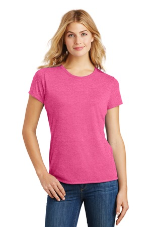 District Made® DM130L - Ladies Perfect Tri™ Crew Tee