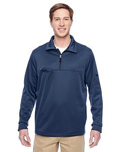 Harriton M730 - Adult Task Performance Fleece Half-Zip Jacket