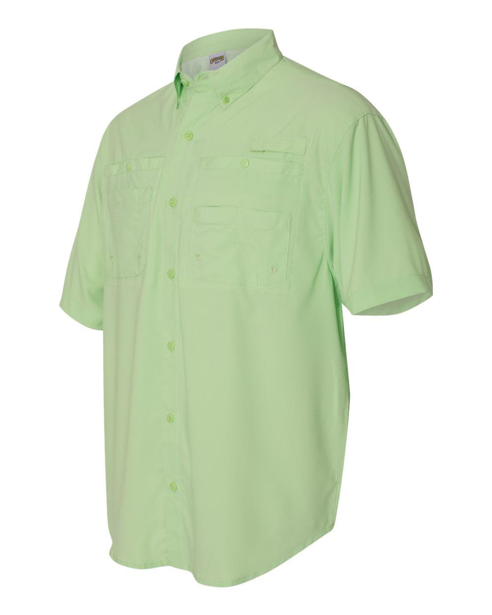 Hilton ZP2297 - Baja Short Sleeve Fishing Shirt