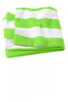 Port & Company® PT43 - Cabana Stripe Beach Towel