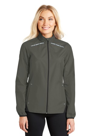 Port Authority® L345 - Ladies Zephyr Reflective Hit Full-Zip Jacket