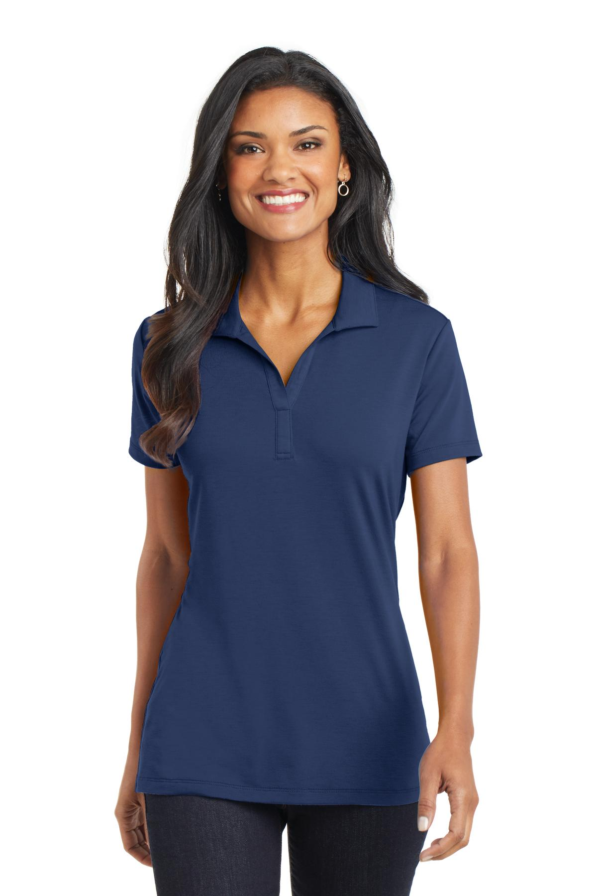 Port Authority® L568 - Ladies Cotton Touch Performance Polo