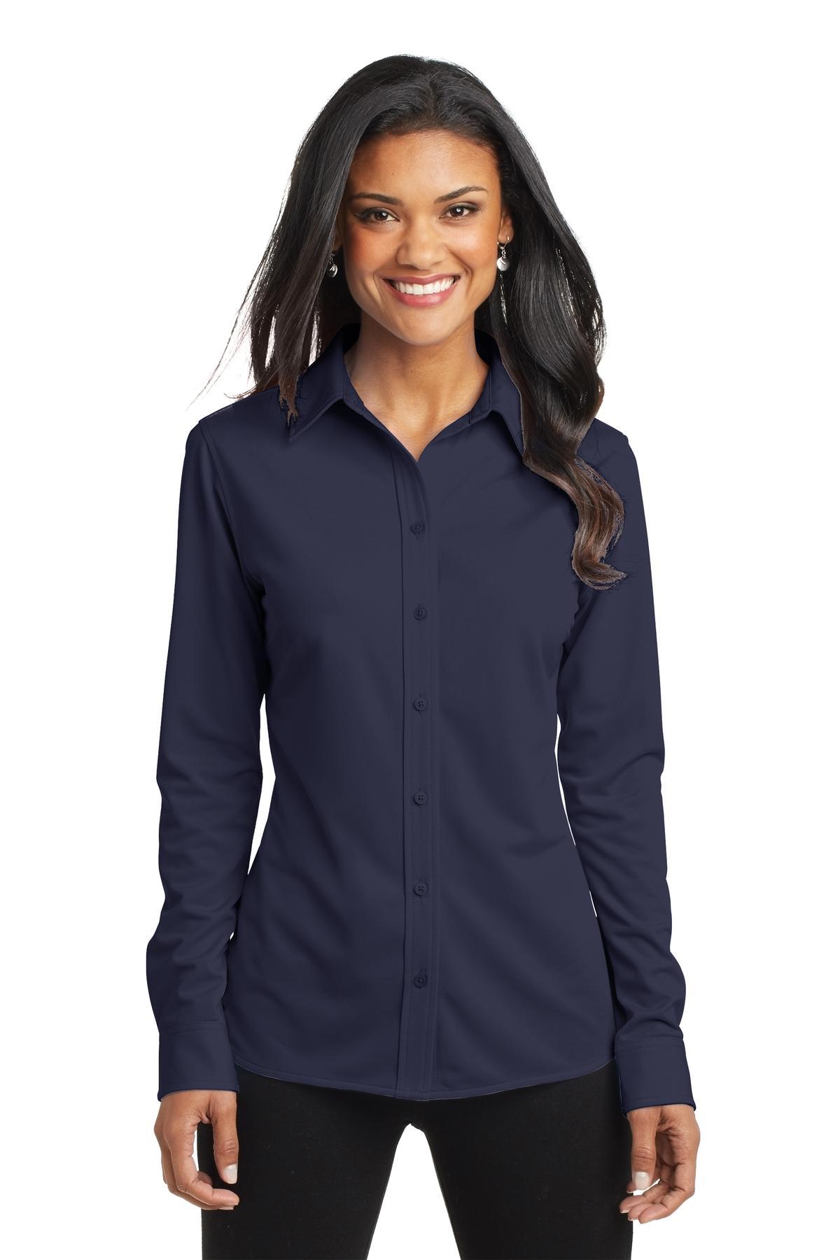 Port Authority® L570 - Ladies Dimension Knit Dress Shirt