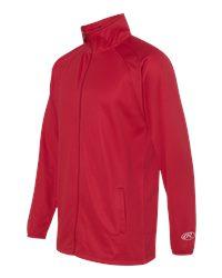 Rawlings 9761 - Full Zip Flatback Mesh Fleece Jacket