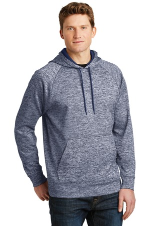 Sport-Tek® ST225-PosiCharge® Electric Heather Fleece Hooded Pullover