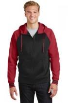 Sport-Tek® ST236 - Sport-Wick® Varsity Fleece Full-Zip Hooded Jacket
