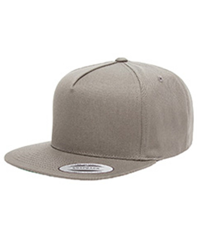 Yupoong Y6007 - Adult 5-Panel Cotton Twill Snapback Cap