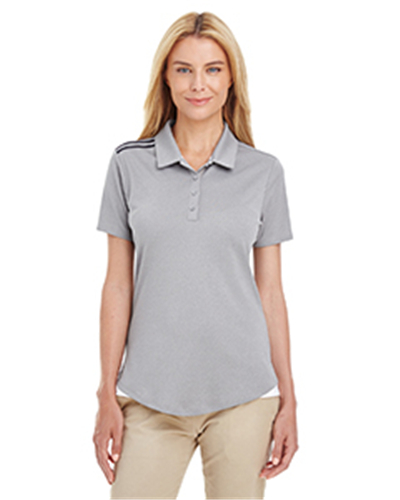 adidas A235 - Ladies' 3-Stripes Shoulder Polo