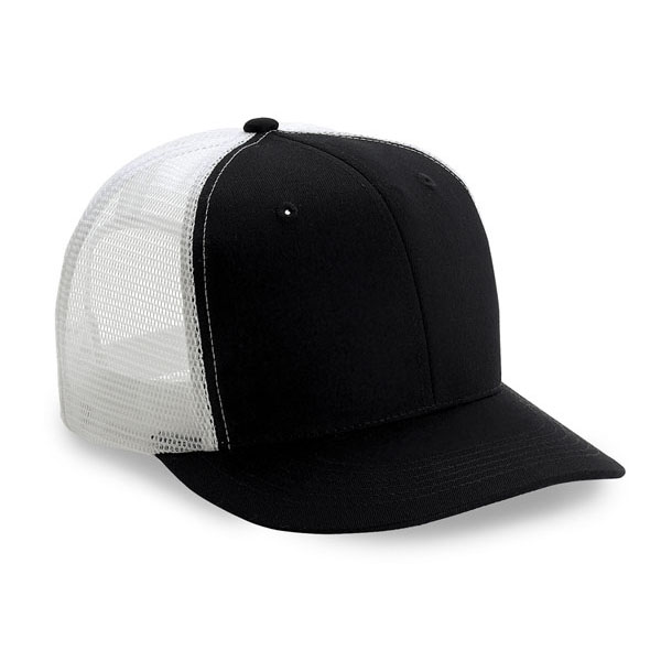 Cobra TRUCK-6 - 6 Panel Trucker Cap Twill/Mesh