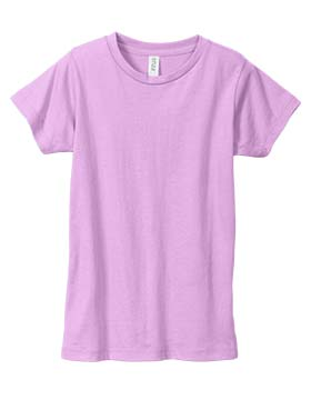 Enza 107 - Girls Essential Short Sleeve Crew Neck Tee