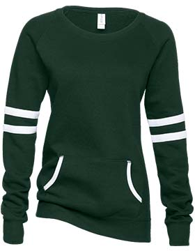 Enza 370 - Ladies Varsity Fleece Crew