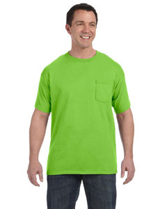 Hanes H5590 - 6.1 oz. Tagless ComfortSoft Pocket T-Shirt