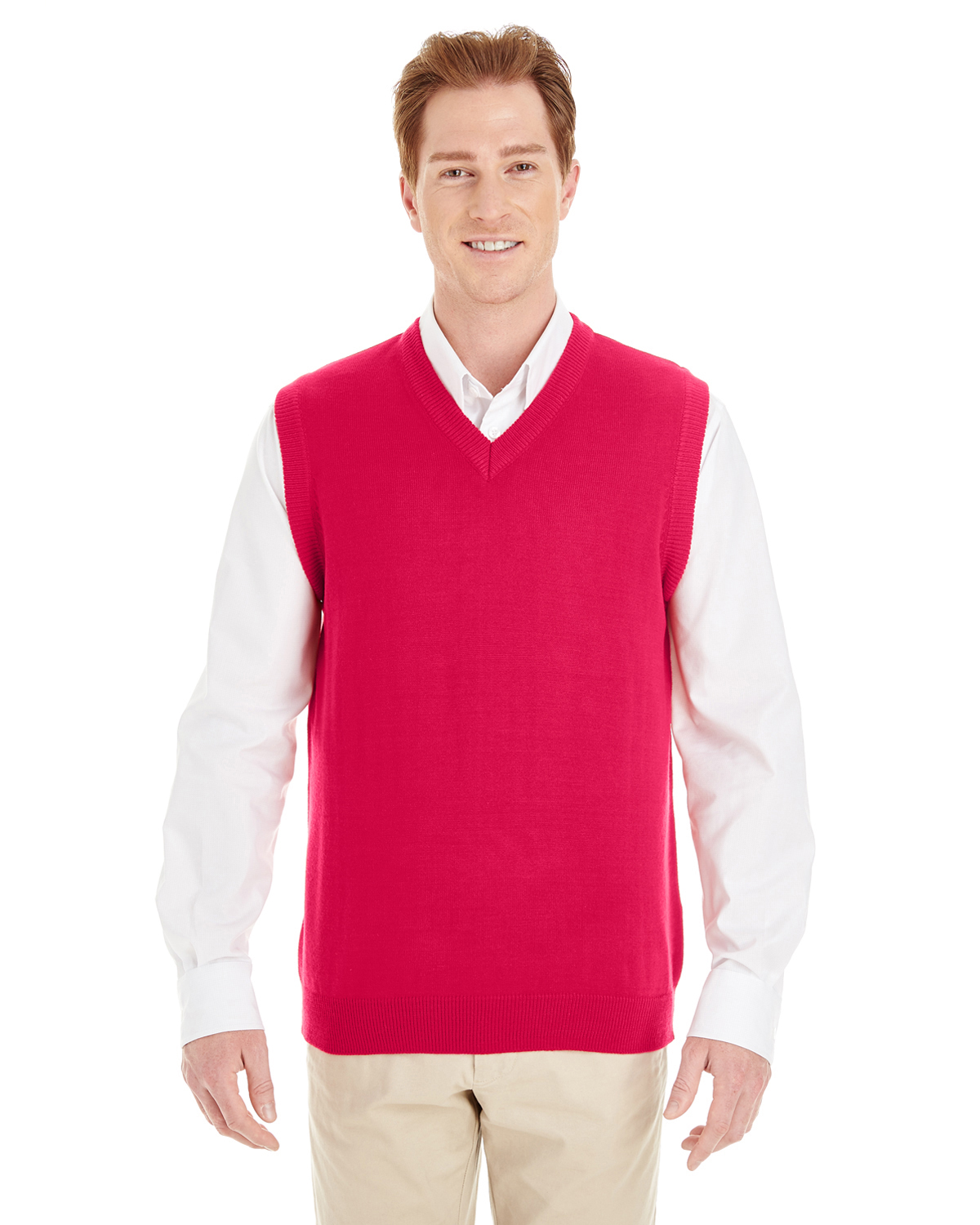 Harriton M415 - Men's Pilbloc™ V-Neck Sweater Vest
