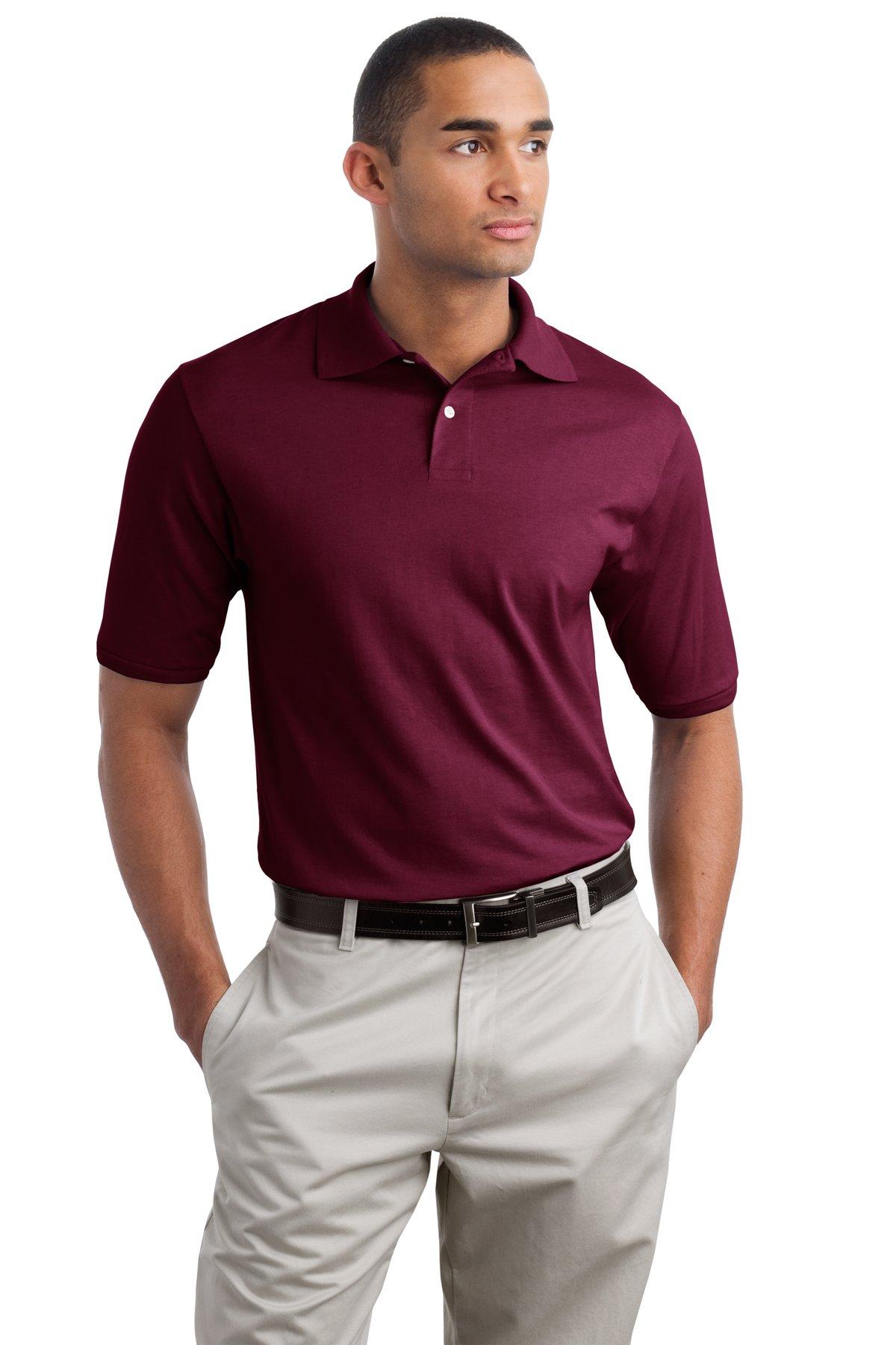 JERZEES  437M - SpotShield 5.6-Ounce Jersey Knit Sport Shirt