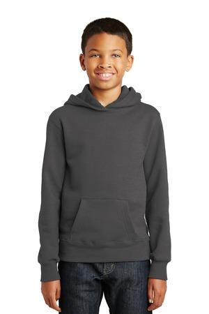 Port & Company PC850YH - Youth Fan Favorite Fleece Pullover Hooded Sweatshirt