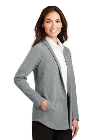 Port Authority® L807-Ladies Interlock Cardigan